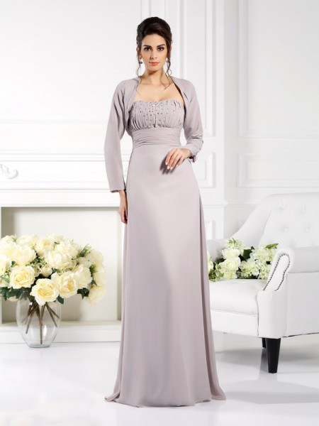 Chiffon Lange Mouwen Special Occasion Wrap