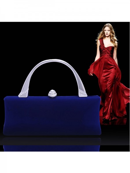 Fashion Bergkristal Flock Party/Evening Bags