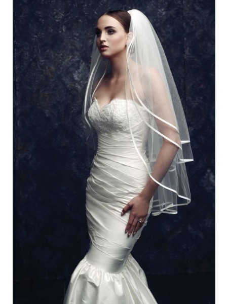 Gorgeous 3 Layer Tule Wedding Veils