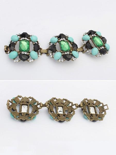 Occident Stylish Emeralds Luxurious Hot Sale Bracelets