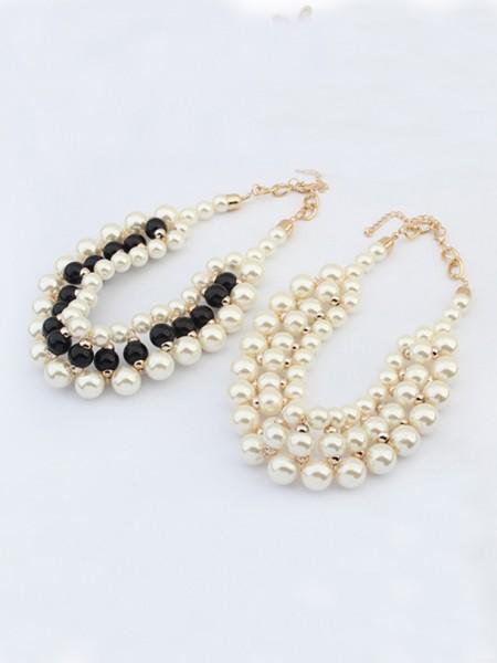 Occident Stylish Imitation pearls Hot Sale Necklace