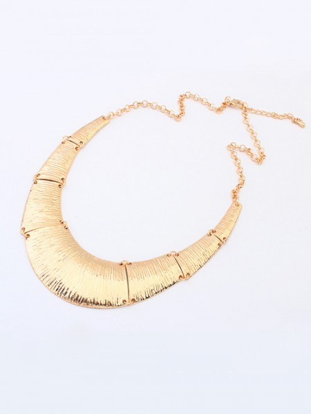 Occident Hyperbolic Metallic Do the Old Retro Hot Sale Necklace