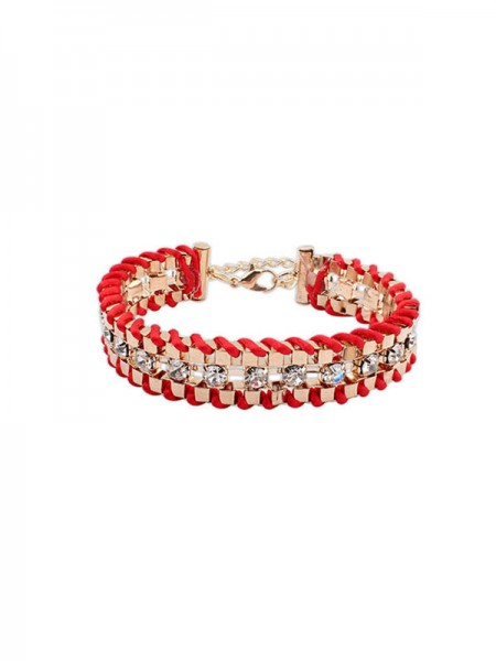 Occident Ethnic Customs Woven Bergkristal Hot Sale Bracelets